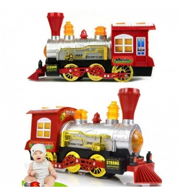 Bubble Blowing Toy Train