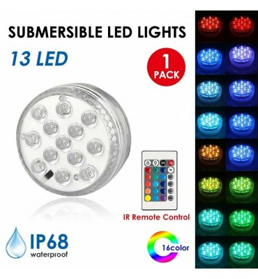 13 LED Remote Control Diving Waterproof Light