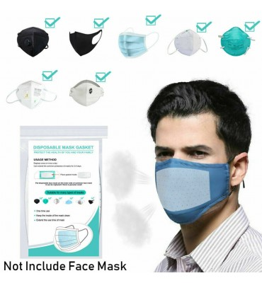 100X Disposable Face Mask Gasket Pad Mask filter