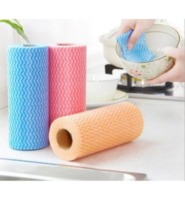 50PCS Multi Purpose Kitchen Wipes Dish Cloth