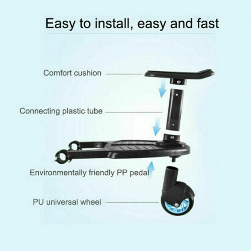 Buggy Board Stroller Step Board Stand Connector Toddler Child