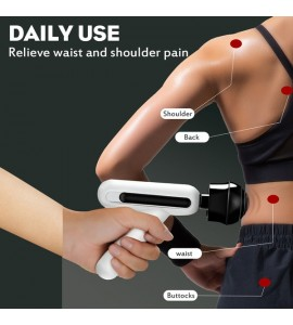 USB Muscle Massager Gun With LCD Display