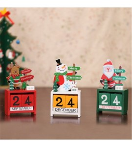 Christmas Creative Wooden Calendar