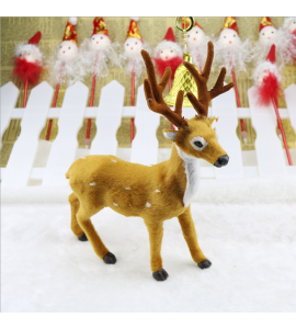 Reindeer Christmas Deer Doll