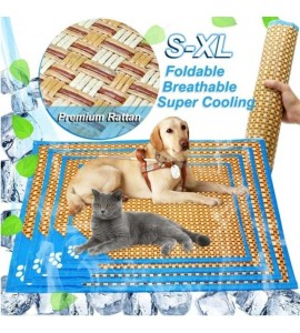 Rattan Pet Cooling Mat