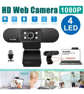 1080P Full HD Webcam With Microphone