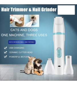 3-in-1 Pet Hair Trimming