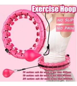 Thin Waist Abdominal Exercise Loss Weights Hoops