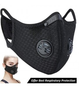 Dust Mesh Mask With 4 Carbon Filters