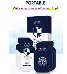 48PCS Portable Without Washing Antibacterial Gel